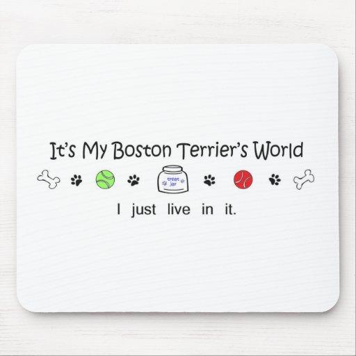 BostonTerrier Mousepad