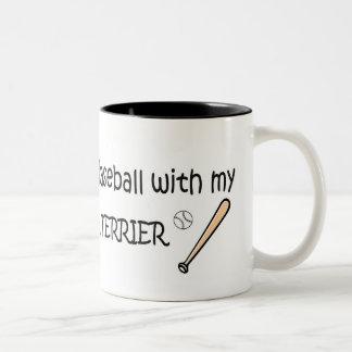 BOSTONTERRIER Two-Tone COFFEE MUG