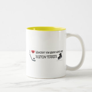 BOSTONTERRIER Two-Tone COFFEE MUG
