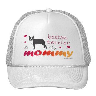 BostonTerrierBlk Trucker Hat