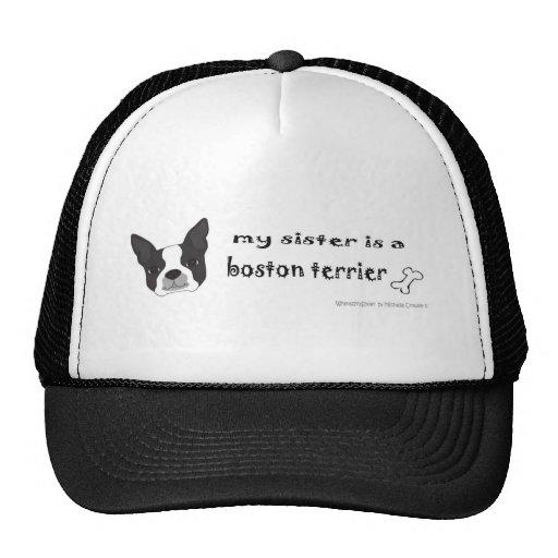 BostonTerrierSister Gorras De Camionero