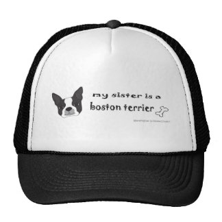 BostonTerrierSister Trucker Hat