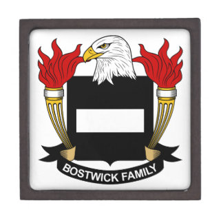 Bostwick Family Crest Gift Box