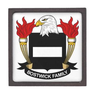 Bostwick Family Crest Gift Box