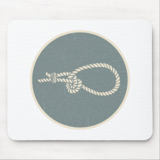 bosun Jones' Knot Guide - The Barbary Necktie Mouse Pad