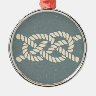 bosun Jones' Knot Guide - The Mermaid's Rear Metal Ornament
