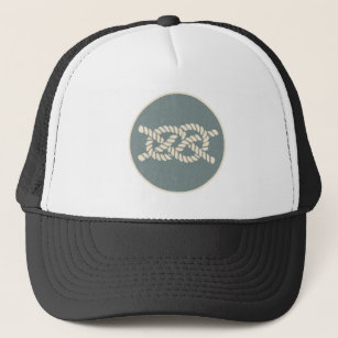 bosun Jones  Knot Guide - The Mermaid s Rear Trucker Hat a97c8c436228