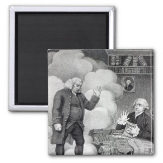 Boswell and the Ghost of Samuel Johnson Magnet