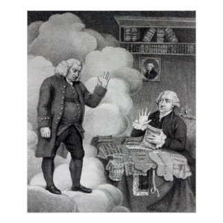 Boswell and the Ghost of Samuel Johnson Posters