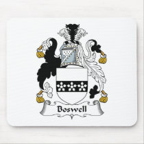 Boswell Family Crest Mousepad