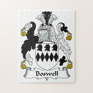 Boswell Family Crest Puzzle