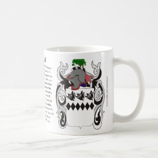 Boswell, the Origin, the Meaning and the Crest Mug