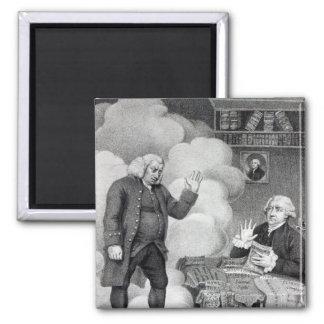 Boswell y el fantasma de Samuel Johnson Imán Cuadrado