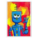 bot001.07 greeting card