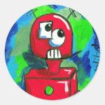 bot002.07 classic round sticker