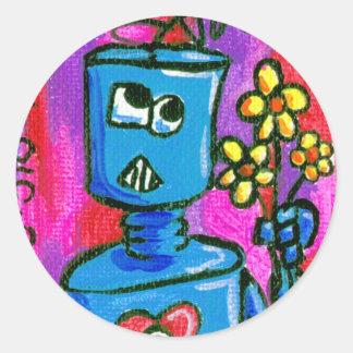 bot 010.07 classic round sticker