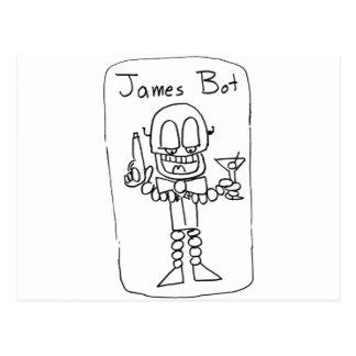 Bot   de James Tarjeta Postal