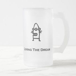 Bot de tres ojos que vive el negro del sueño tazas de café
