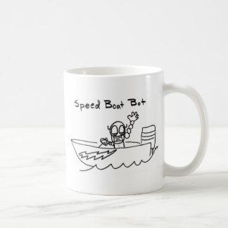 Bot del barco de la velocidad taza