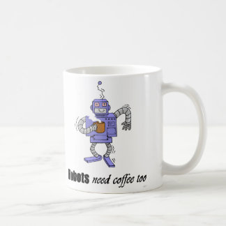 bot del café taza de café