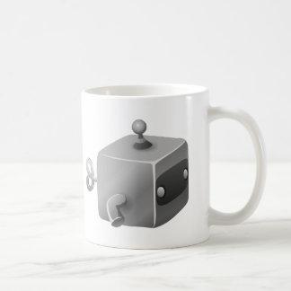 Bot del mantenimiento de la interferencia cubimal tazas