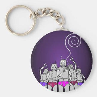 Bot-Huggers REVOLT Products! Keychain