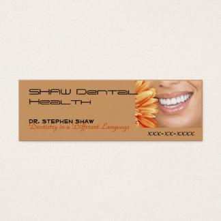 bot marketing, SHAW Dental Heal... Mini Business Card