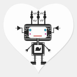Bot Nomz Heart Sticker
