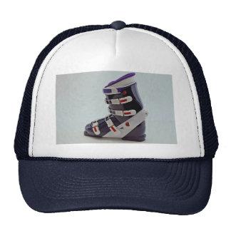 Bota de esquiar colorida gorra