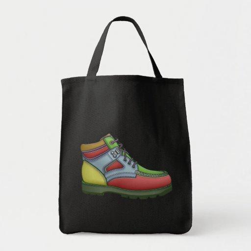 Bota del diseñador bolsa tela para la compra