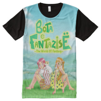 Bota e Fantazise (The World of Fantasy) Characters All-Over-Print T-Shirt