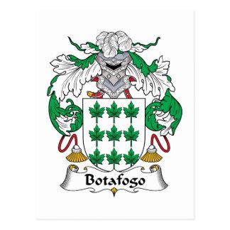 Botafogo Family Crest Postcard