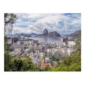 Botafogo With Sugar Loaf Postcard