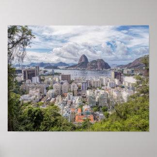Botafogo With Sugar Loaf Poster