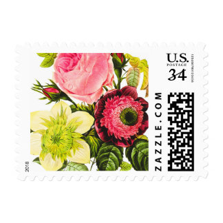 Botancial Rose stamp