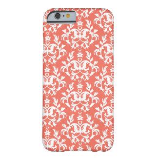 Botanic damask emberglow iPhone 6 case
