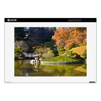 Botanic Garden Brooklyn New York Fall Decal For Laptop