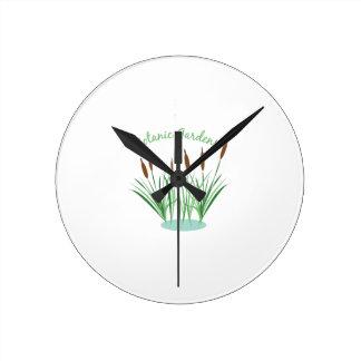 Botanic Gardens Round Clock