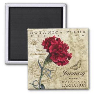 Botanica January Magnet