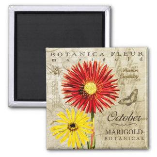 Botanica October Magnet