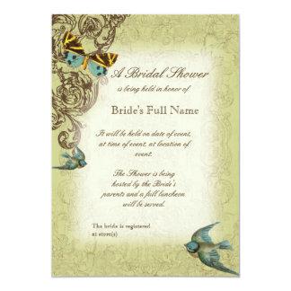 Botanica Wedding Bridal Shower Invite - Green