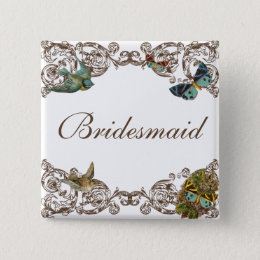 Botanica Wedding Ensemble - Bridesmaid Pin