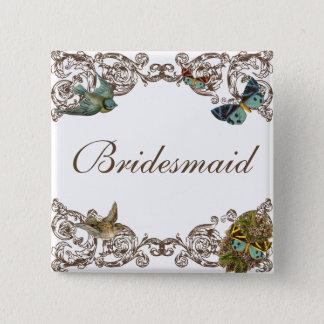 Botanica Wedding Ensemble - Bridesmaid Pin