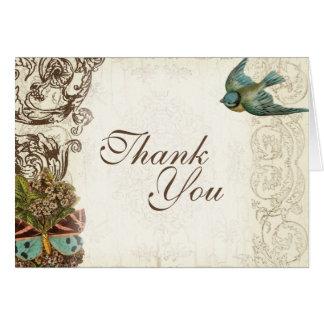Botanica Wedding Ensemble - Cream Tan Card