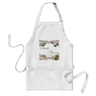 Botanica Wedding Ensemble - Personalized Apron