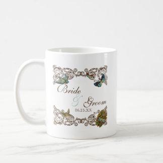 Botanica Wedding Ensemble, Personalized Coffee Mug