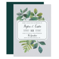 Botanica Wedding Invitation