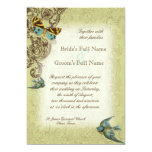 Botanica Wedding Invitation - Green