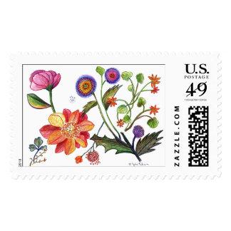 botanical45 postage
