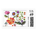 botanical45 postage stamps
